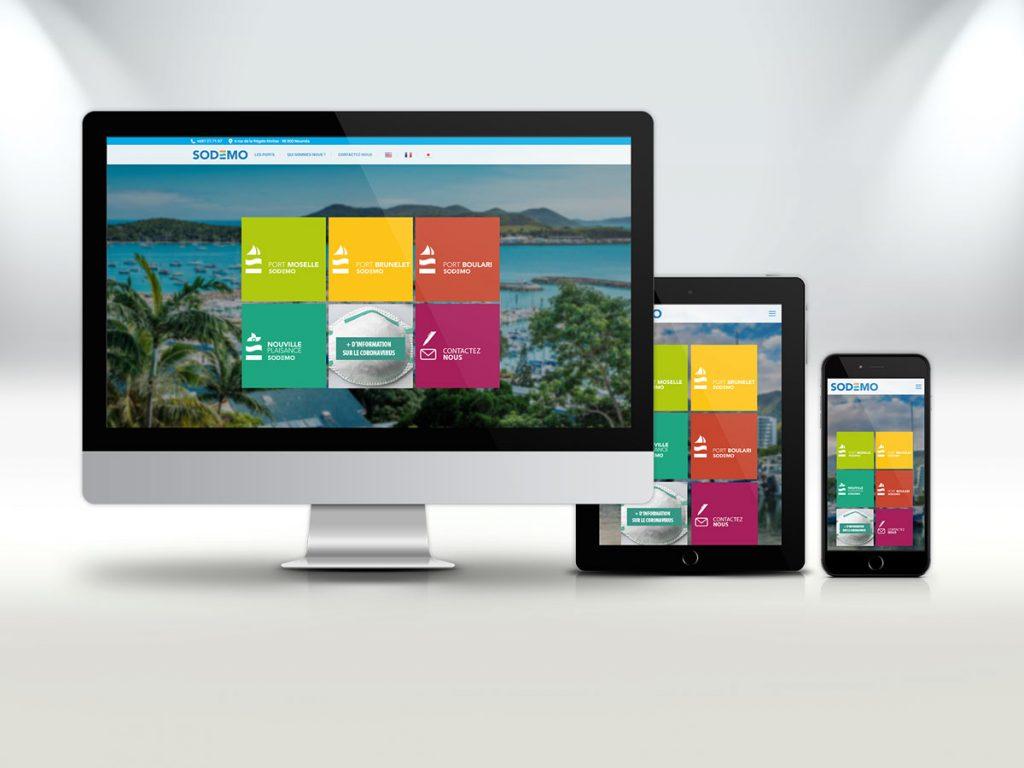 Sodemo - Site web